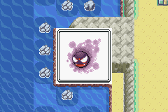 Pokemon Ash Gray (beta 3.61) - Misc  - Gastly - User Screenshot